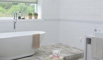 Votre homme et votre salle de bain
