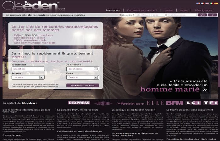 Site de rencontre extra conjugal