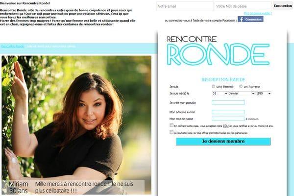site rencontre-ronde.fr à découvrir