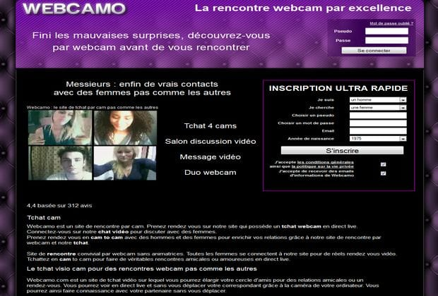 Site de rencontre webcamo