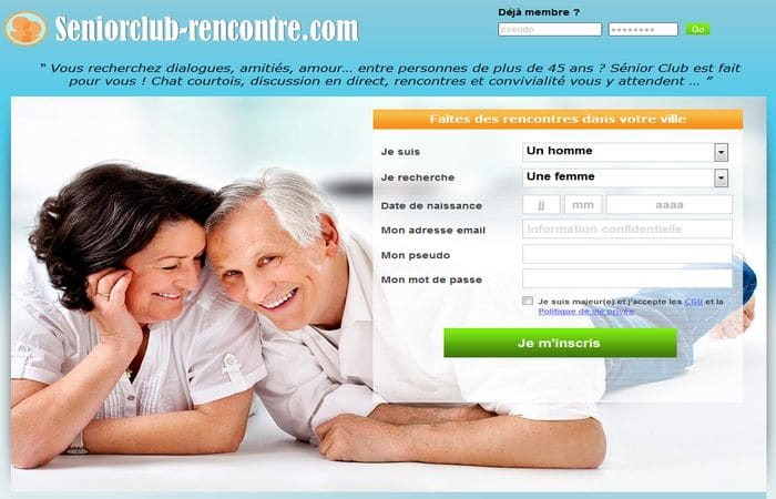 Sites de rencontre seniors gratuit